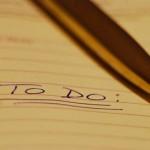 Make A Task List