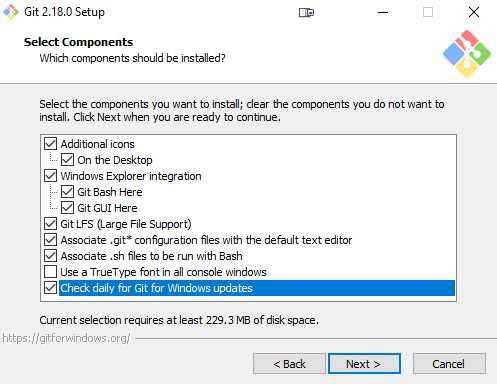 Install Git For Windows