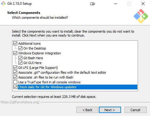 Install Git For Windows